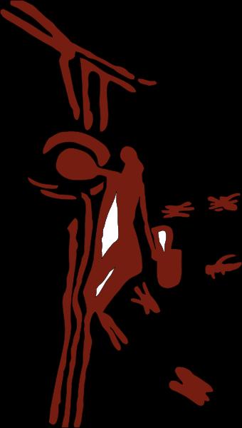 """Honig und seine Geschichte - In den Cuevas de la Araña (Spinnenhöhlen) in Spanien, wurde die als """"Honigjäger"""" bezeichnete Malerei gefunden. Sie gilt als eine der ältesten Darstellungen ihrer Art. (Lizenz: GNU General Public License)"""