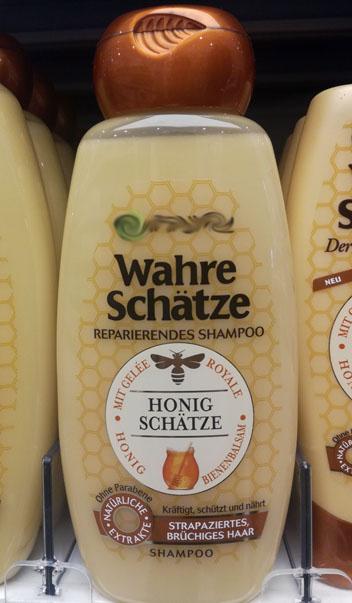 Honig im Shampoo