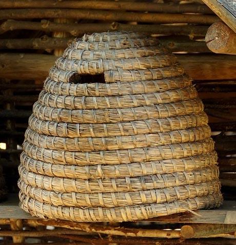 Bienenbeute aus dem Mittelalter