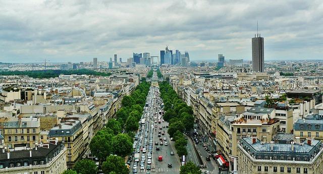In Paris stehen viele Bienenstöcke auf den Dächern.
